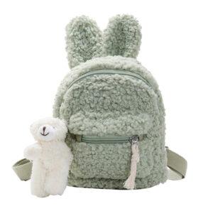 Sac à dos enfant tout doux lapin - Animal en peluche Sac à dos pour enfants