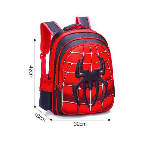 Sac À Dos Araignée Spiderman - L - Sac À Dos Pour Garçons Sac À Dos Scolaire