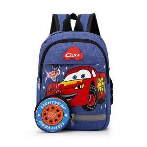 Sac à dos Cars effet jean - Sac à dos scolaire Sac