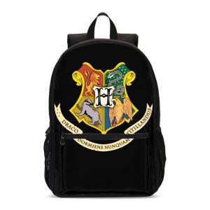 Sacs à dos blason Poudlard - Noir - Harry Potter L'école de sorcellerie de Poudlard