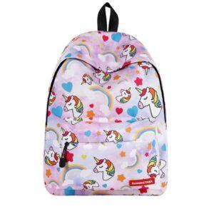 Sac à dos licorne et arc-en-ciel - Sac à dos scolaire Sac à dos fille