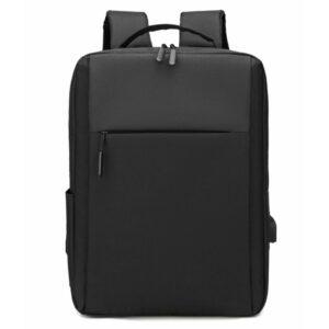Sac à dos pour ordinateur en tissu avec charge USB - Portable Sac à dos