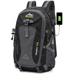 Sac à dos de randonné avec port USB - Sac à dos de randonnée Sac à dos