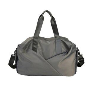 Grand sac de sport - Gris - Sac de gym Sac