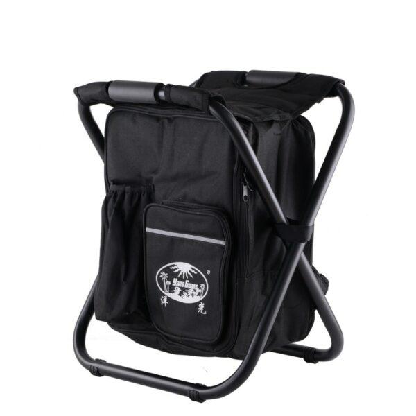 Sac À Dos Chaise Isotherme - Noir - Chaise Chaise Pliante