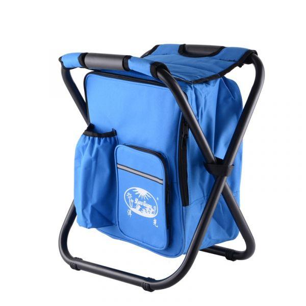 Sac À Dos Chaise Isotherme - Bleu - Chaise Chaise De Plage