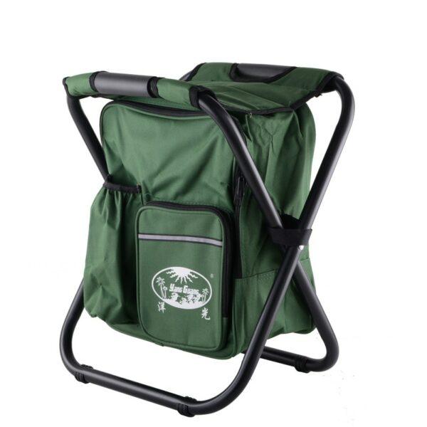 Sac À Dos Chaise Isotherme - Vert - Chaise Pliante Chaise