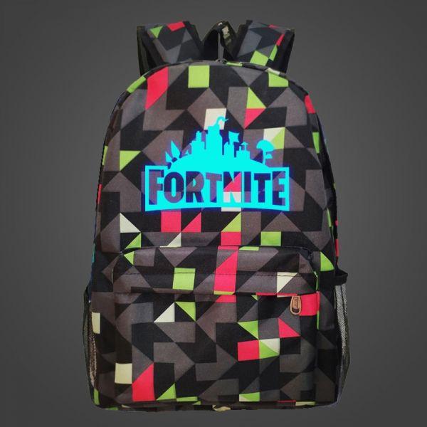 Sacs À Dos Fortnite Phosphorescent - Multicolore - Fortnite Légendes Apex