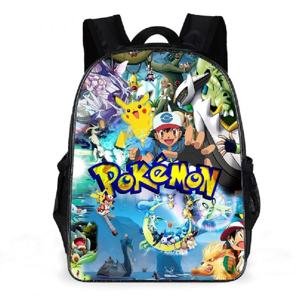 Sac À Dos Univers Pokémon - Bleu - Pokémon Go Fond D'Écran