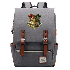 Sac à dos Harry Potter style College gris - Sac à dos scolaire Sac à dos