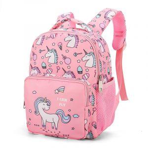 Sac à dos enfant rose licornes - Sac à dos pour enfants Sac à dos scolaire