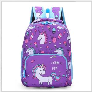Sac à dos enfant imprimé licornes coloré - Violet - Sac à dos scolaire Sac à dos