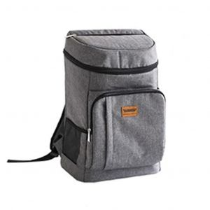 Grand sac à dos isotherme gris - Sac Sac thermique
