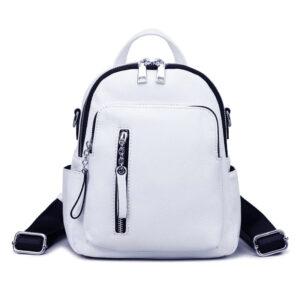 Petit sac à dos en cuir - Sac à dos scolaire Sac à dos