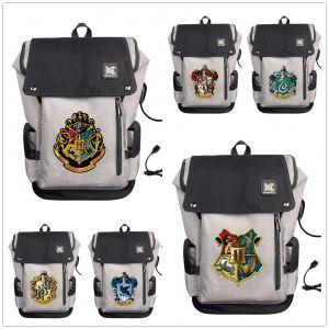 Sac à dos Harry Potter, les 4 maisons - Sac à dos Sac à dos scolaire