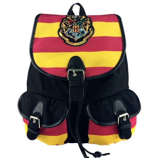 Sac À Cordon Harry Potter - Jaune - Harry Potter L'École De Sorcellerie De Poudlard