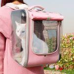 Sac à dos respirant pour chat - Chat Chien