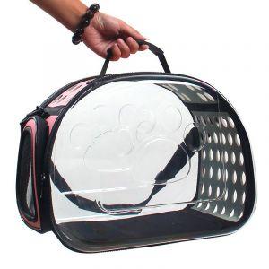 Sac de transport transparent pour chien et chat - Chat Chien