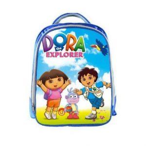 Sac d'école Dora, Babouche et Diego - Dora l'exploratrice Dessin animé