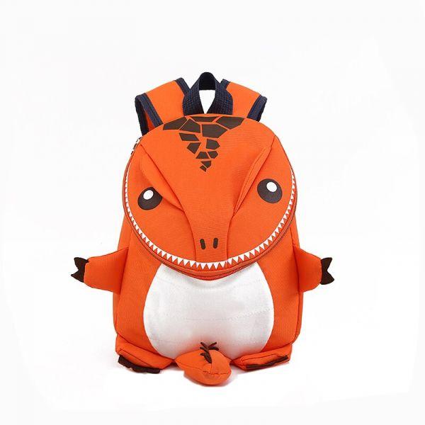 Sac À Dos Dinosaure Pour Enfant - Orange - Sac À Dos Scolaire Sac À Dos Pour Enfants