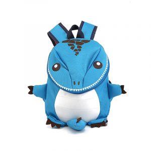 Sac à dos dinosaure pour enfant - Bleu - Sac à dos scolaire Sac à dos