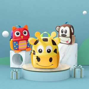 Sac à dos animaux 3D pour enfant - Sac à dos pour enfants Sac à dos scolaire