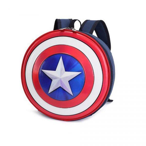 Mini Sac À Dos Captain America Pour Enfant - Capitaine Amérique Sac À Dos Scolaire