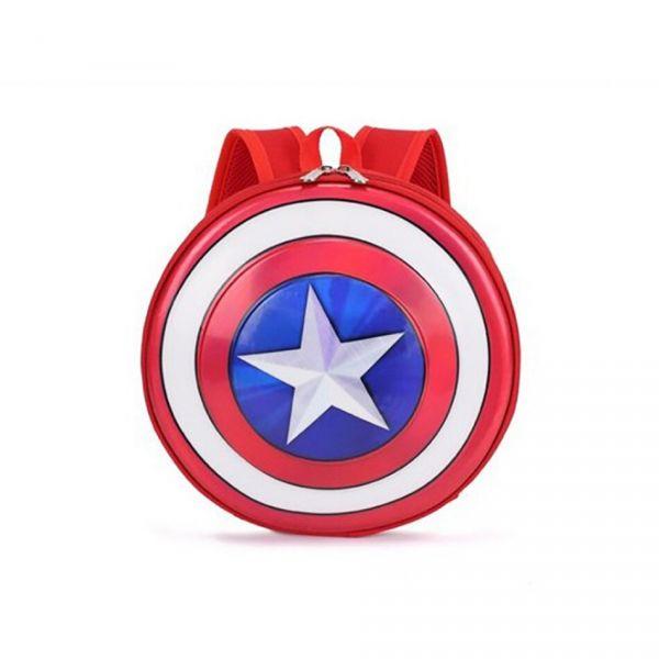 Mini Sac À Dos Captain America Pour Enfant - Rouge - Capitaine Amérique Sac À Dos
