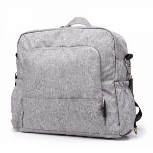 Grand sac à langer gris pour bébé - Sac Sac à langer