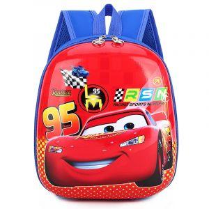 Sac à dos Flash McQueen pour garçon - Rouge - Auto Disney