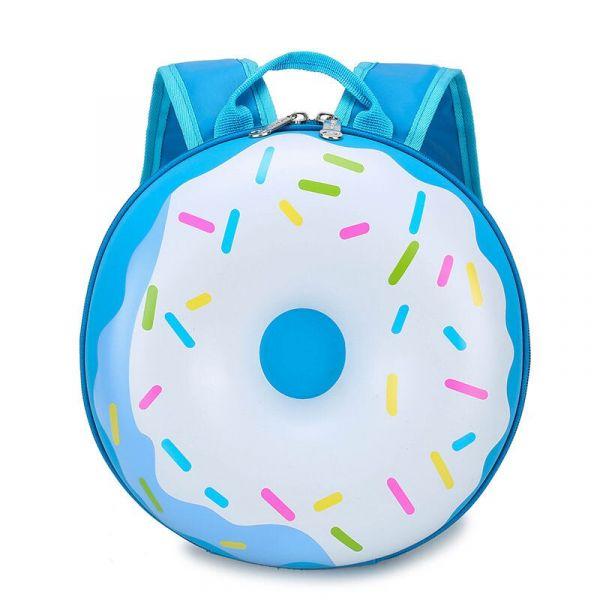 Sac À Dos Donuts Pour Enfants - Bleu - Sac À Dos Pour Enfants Sac