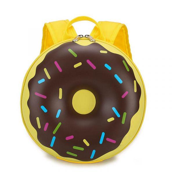 Sac À Dos Donuts Pour Enfants - Marron - Sac À Dos Pour Enfants Sac À Dos