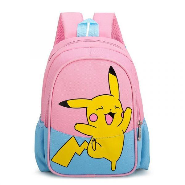 Sac À Dos Imprimé Pikachu Pour Enfants - Bleu - Sac À Dos Pikachu