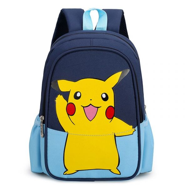 Sac À Dos Imprimé Pikachu Pour Enfants - Bleu Marine - Pikachu Sac À Dos