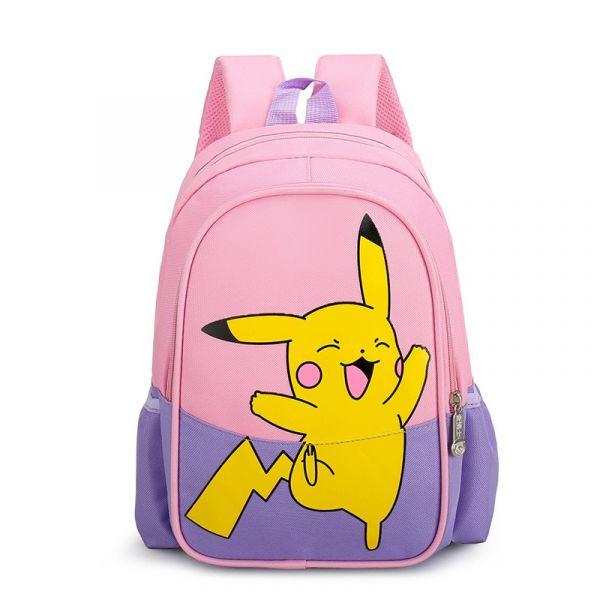 Sac À Dos Imprimé Pikachu Pour Enfants - Violet - Sac À Dos Scolaire Sac À Dos