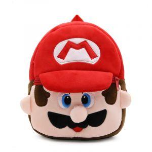 Sac à dos peluche Super Mario pour enfants - Super Mario Bros. Les frères Mario.