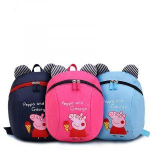 Sac à dos Peppa Pig pour enfants - Georges Cochon Sac à dos