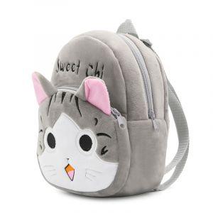 Sac à dos peluche Chi le chat pour enfants - Sac à dos scolaire Sac