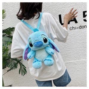 Sac à dos peluche Stitch pour enfants - Point Poupée en peluche Stitch New Store de Disney
