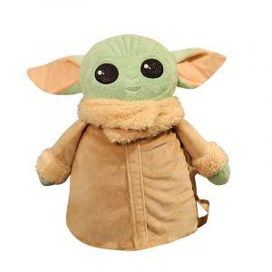 Sac à dos Star Wars Yoda en peluche - Animal en peluche Jaune