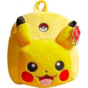 Sac d'école Pikachu en peluche - Animal en peluche Peluche