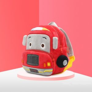 Sac à dos peluche camion pompier - Auto Sac à dos