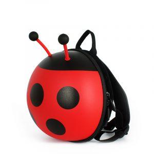 Mini sac à dos en forme de coccinelle - Sac à dos pour enfants Sac à dos