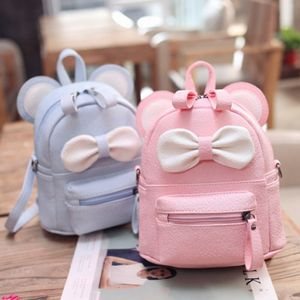 Mini sac à dos avec nœud pour fille - Sac à dos fille Sac à dos scolaire