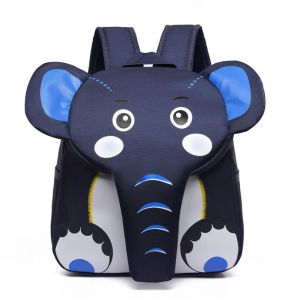 Sac à dos en forme d'éléphant pour enfant - Sac à dos scolaire Sac à dos fille