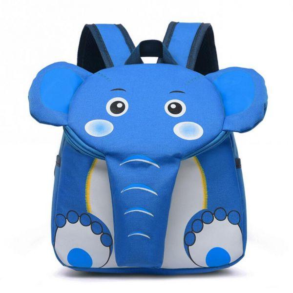 Sac À Dos En Forme D'Éléphant Pour Enfant - Bleu Ciel - Sac À Dos Sac