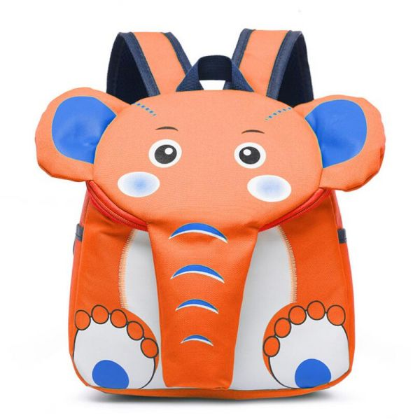 Sac À Dos En Forme D'Éléphant Pour Enfant - Orange - Sac À Dos Disque De Frein Bosch 0 986 478 876