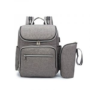 Sac à langer multifonction avec port USB - Sac à dos Sac à main
