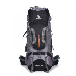 Grand sac à dos ultraléger en nylon - Noir - Sac à dos de randonnée Sac à dos