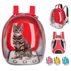 Sac à dos capsule spatiale transparente pour chat - Chat Chien